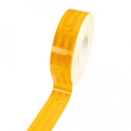 3M SIGNAL LATERAL JAUNE FLUO RETRO 55MM