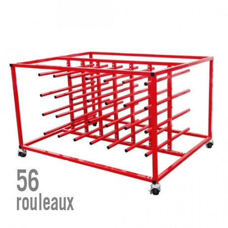 SUPPORT 56 ROULEAUX