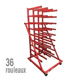 SUPPORT 36 ROULEAUX